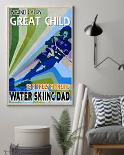 Great Child Amazing Dad Water Skiing 11x17 Poster lifestyle-poster-1