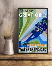 Great Child Amazing Dad Water Skiing 11x17 Poster lifestyle-poster-3
