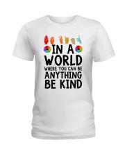 In a world Ladies T-Shirt thumbnail