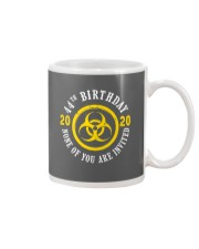 44th Birthday None invited Mug tile