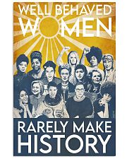 Well behaved women puzzle 11x17 Poster thumbnail