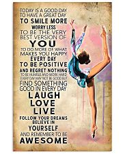 Aerobic gymnastics Today Is Good Day 11x17 Poster front