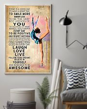 Aerobic gymnastics Today Is Good Day 11x17 Poster lifestyle-poster-1
