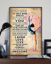 Aerobic gymnastics Today Is Good Day 11x17 Poster lifestyle-poster-2