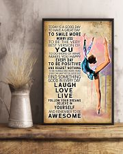 Aerobic gymnastics Today Is Good Day 11x17 Poster lifestyle-poster-3