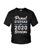 Stepdad Proud Family of 2020 Senior Youth T-Shirt thumbnail
