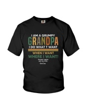 grumpy grandpa Youth T-Shirt thumbnail