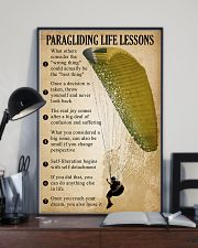 Paragliding Life Lessons 11x17 Poster lifestyle-poster-2