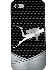 Scuba Diving Metal Print case Phone Case i-phone-8-case