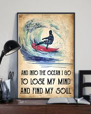 Surfing Lose My Mind Poster 11x17 Poster lifestyle-poster-2