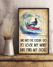 Surfing Lose My Mind Poster 11x17 Poster lifestyle-poster-3