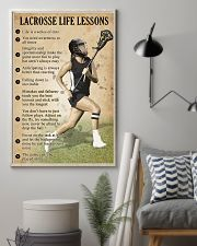 Lacrosse Life lessons girl 11x17 Poster lifestyle-poster-1