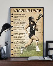 Lacrosse Life lessons girl 11x17 Poster lifestyle-poster-2
