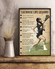 Lacrosse Life lessons girl 11x17 Poster lifestyle-poster-3