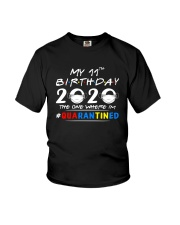 11th Birthday 2020 color Youth T-Shirt thumbnail