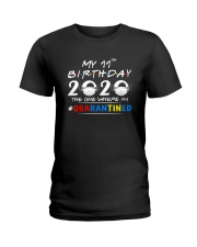 11th Birthday 2020 color Ladies T-Shirt tile