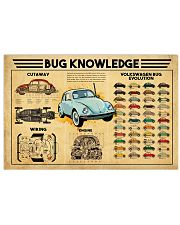 Volkswagen Beetle Bug Knowledge Poster 17x11 Poster front