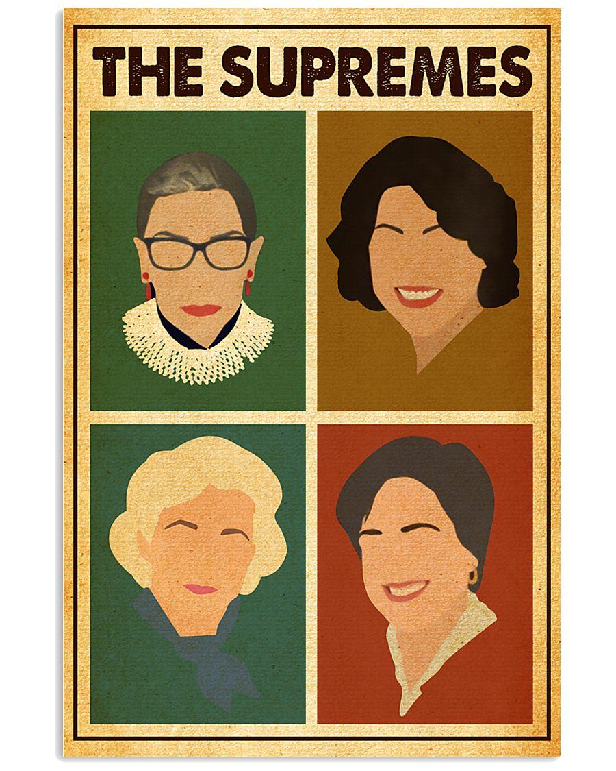 Retro The Supremes 11x17 Poster