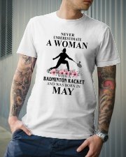 Badminton Woman Love Shirt Classic T-Shirt lifestyle-mens-crewneck-front-6