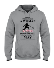 Badminton Woman Love Shirt Hooded Sweatshirt thumbnail
