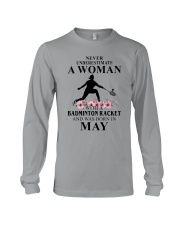 Badminton Woman Love Shirt Long Sleeve Tee thumbnail