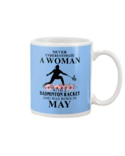 Badminton Woman Love Shirt Mug thumbnail