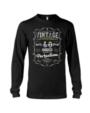 Vintage 1980 Edition 40th Birthday Gift Long Sleeve Tee front