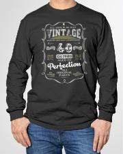 Vintage 1980 Edition 40th Birthday Gift Long Sleeve Tee garment-tshirt-longsleeve-front-01