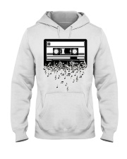 Retro Cool Audio Cassettes Bright Colours Edition Hooded Sweatshirt thumbnail