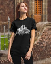 Lost In Ohio  - Skyline Edition Classic T-Shirt apparel-classic-tshirt-lifestyle-06