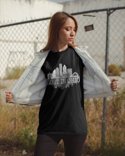 Lost In Ohio  - Skyline Edition Classic T-Shirt apparel-classic-tshirt-lifestyle-07