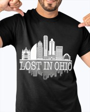Lost In Ohio  - Skyline Edition Classic T-Shirt apparel-classic-tshirt-lifestyle-front-92