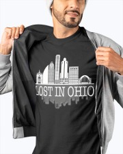 Lost In Ohio  - Skyline Edition Classic T-Shirt apparel-classic-tshirt-lifestyle-front-93