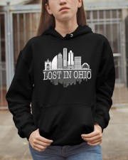 Lost In Ohio  - Skyline Edition Hooded Sweatshirt apparel-hooded-sweatshirt-lifestyle-07
