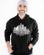 Lost In Ohio  - Skyline Edition Hooded Sweatshirt apparel-hooded-sweatshirt-lifestyle-front-82