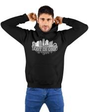 Lost In Ohio  - Skyline Edition Hooded Sweatshirt custom-hoodie-sweatshirt-lifestyle-front-178