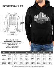 Lost In Ohio  - Skyline Edition Hooded Sweatshirt custom-hoodie-sweatshirt-lifestyle-front-191