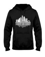 Lost In Ohio  - Skyline Edition Hooded Sweatshirt front