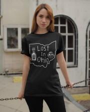 Lost In Ohio - Original Classic Map Classic T-Shirt apparel-classic-tshirt-lifestyle-19
