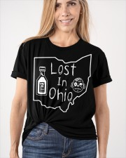 Lost In Ohio - Original Classic Map Classic T-Shirt apparel-classic-tshirt-lifestyle-front-101