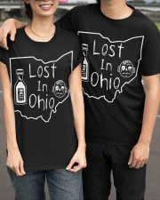Lost In Ohio - Original Classic Map Classic T-Shirt apparel-classic-tshirt-lifestyle-front-143