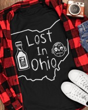 Lost In Ohio - Original Classic Map Classic T-Shirt apparel-classic-tshirt-lifestyle-front-163
