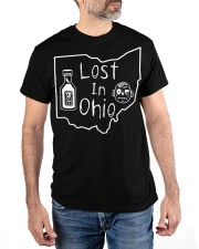 Lost In Ohio - Original Classic Map Classic T-Shirt apparel-classic-tshirt-lifestyle-front-178