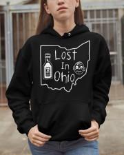 Lost In Ohio - Original Classic Map Hooded Sweatshirt apparel-hooded-sweatshirt-lifestyle-07