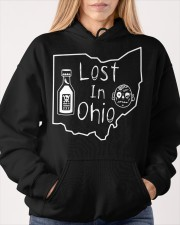 Lost In Ohio - Original Classic Map Hooded Sweatshirt apparel-hooded-sweatshirt-lifestyle-front-85