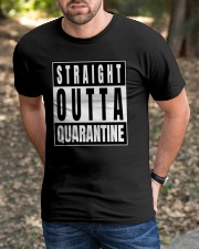 Straight Outta Quarantine Freedom Edition Classic T-Shirt apparel-classic-tshirt-lifestyle-front-52