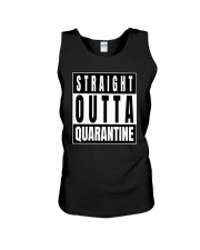 Straight Outta Quarantine Freedom Edition Unisex Tank thumbnail
