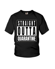 Straight Outta Quarantine Freedom Edition Youth T-Shirt thumbnail