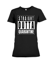 Straight Outta Quarantine Freedom Edition Premium Fit Ladies Tee thumbnail