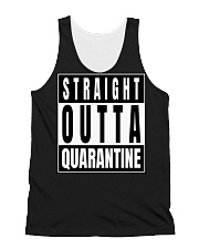 Straight Outta Quarantine Freedom Edition All-over Unisex Tank thumbnail
